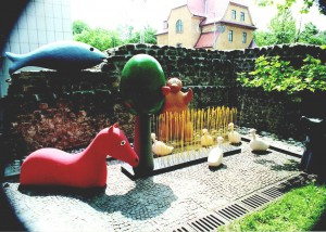 Animals and plants, 1997, sculptures for theater play Ladomir Faktura, Cankarjev dom, Ljubljana