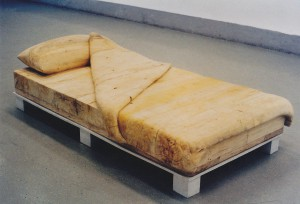 The Bed, 1997, wood, 210x120x45cm, available