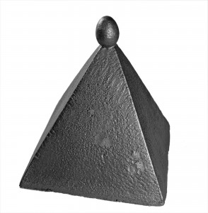 Do not mystify me, 2002, iron, h=40cm, private collection