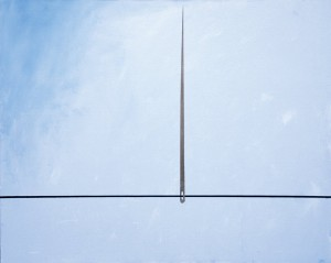 The Needle, 2004, acrylic on canvas, 120X80cm, available